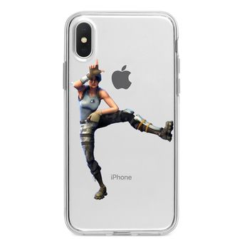 FORTNITE TAKE THE L DANCE CLEAR CUSTOM IPHONE CASE