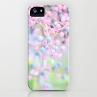 Pastel Berries iPhone & iPod Case by Lisa Argyropoulos