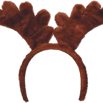 reindeer antlers with snap-on headband Case of 12