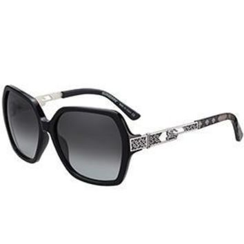 Burberry Butterfly Square Black Sunglasses 307757