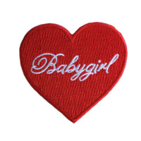 Red Babygirl Patch