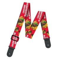Woodrow Chicago Blackhawks Guitar Strap (Hwk Team)