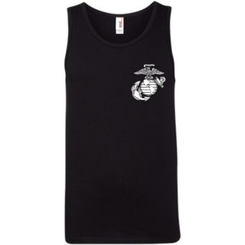 Proud U.S. Marines 100% Ringspun Cotton Tank Top