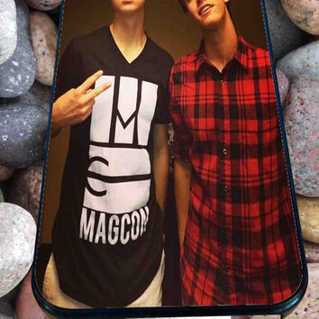 Nash Grier and Cameron Dallas for iPhone 4/4s, iPhone 5/5S/5C/6, Samsung S3/S4/S5 Unique Case *99*