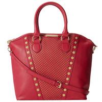 Betsey Johnson Tuxedo Junction Tote- Berry - Default