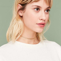Curb Chain Choker Necklace - Urban Outfitters