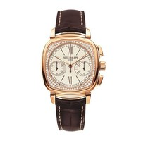 Patek Philippe & Co. Ladies White Gold Chronograph Manual Wind Wristwatch