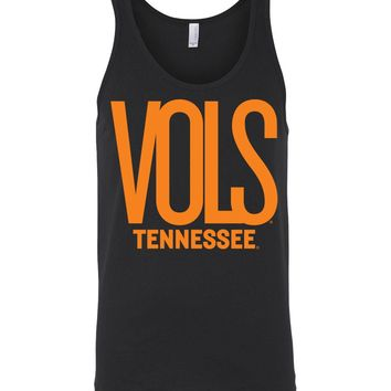 Official NCAA University of Tennessee Volunteers, Knoxville Vols UT UTK Women's Unisex Tank - 80M-TN2