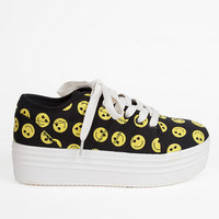 YRU Happy Sneakers $60