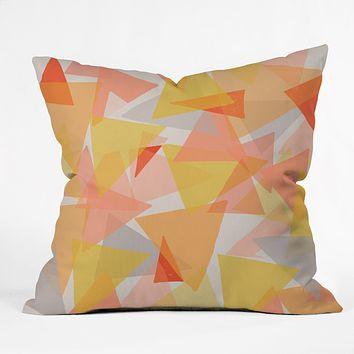 Ali Benyon Geometrics Throw Pillow