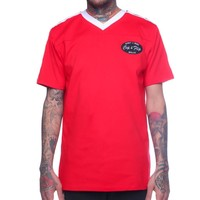 Drip Vintage Stripe Jersey Red