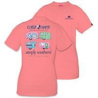Simply Southern Preppy Classy Camper T-Shirt