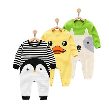 Orangemom 2018 newborn baby girl boy wear pure cotton infant clothing , fashion baby boy clothes kids rompers 100% cotton body