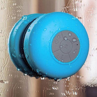 Mini Pocket Waterproof Wireless Bluetooth Suction Speaker Cup for Showers Bathroom Car Gift