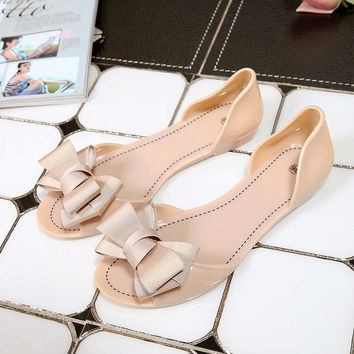 Women Jelly Sandals Beach Jelly Shoes