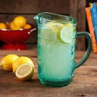 The Pioneer Woman Adeline 1.59-Liter Glass Pitcher - Walmart.com