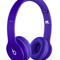 Beats By Dre Solo HD Monochrome Purple Headphones