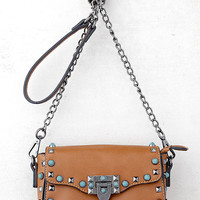 Taos Brown Studded Purse