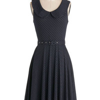 ModCloth Long Sleeveless A-line Prairie Nice to See You Dress