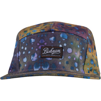 Bohnam Co. Scales 5-Panel Hat All Over Print, One