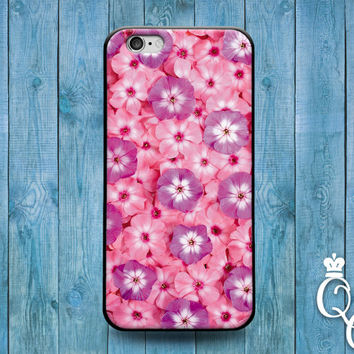 iPhone 4 4s 5 5s 5c 6 6s plus iPod Touch 4th 5th 6th Generation Cute Pink Flower Floral Collage Phone Cover Girly Girl Adorable Pretty Case