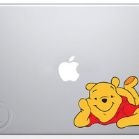 Pooh MacBook Decal Mac Apple Pro Sticker 13 15 17 by MegaVinyl