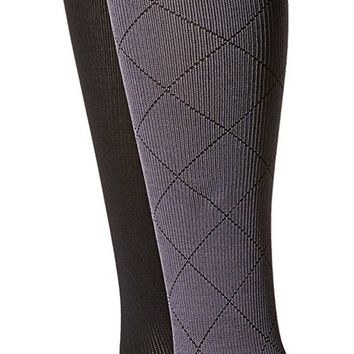 LMFON3F Women's Compression Socks By Dr.Motion 2-Pair Pack Set