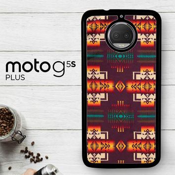 Pendleton Maroon Chief X5090  Motorola Moto G5S Plus Case