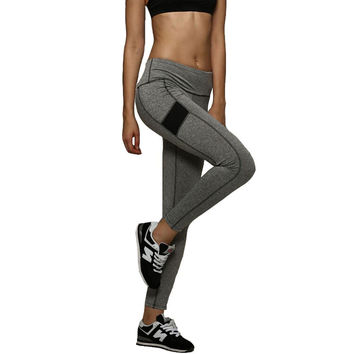 Sexy Mesh Yoga Pants Quik dry Women's Tracksuit Sports Tights Athletic Trousers Female Running Fitness Workout Pants Body shaper