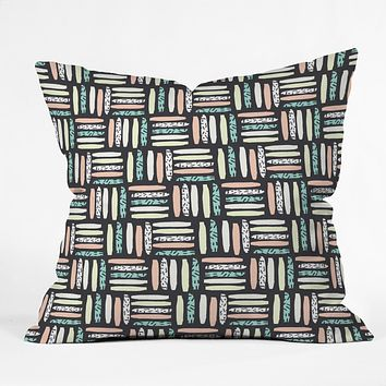 Zoe Wodarz Wild Night Throw Pillow
