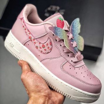 Trendsetter Nike Air force 1 Butterfly Women Fashion Casual Old Skool Shoes