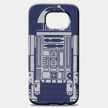 R2-D2 Area Rugs Samsung Galaxy S7 Case