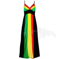 Rasta and Reggae Royal Empress II Dress @ RastaEmpire.com