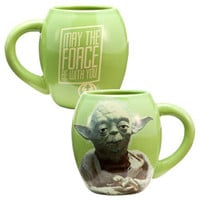 STAR WARS YODA 18 OZ. CERAMIC OVAL MUG