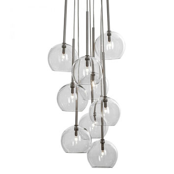 Sofie Refer SR6 Ice Pendants - Clear Glass