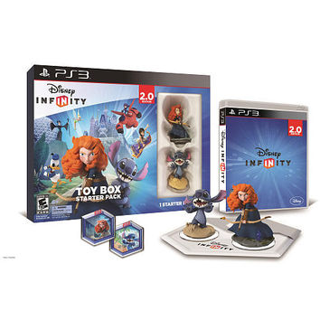 Disney Infinity (2.0 Edition) Toy Box Starter Pack featuring Disney Originals for Sony PS3