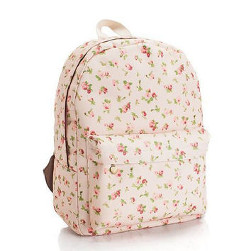 Lovely Print Casual Cute Backpack = 4887486404