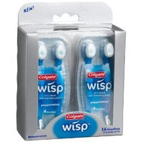 Colgate Wisp Peppermint, 16 Brushes