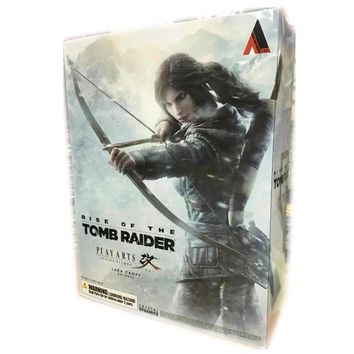 The Game Tomb Raider PVC action figure Lara Boy toy  Anime figure Retail box Laura Collection Doll 27 cm