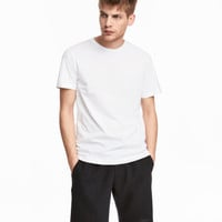Round-neck T-shirt Regular fit - from H&M