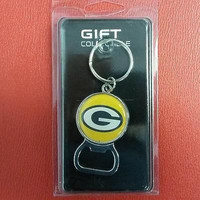 NFL Green Bay Packers Bottle Opener Keychain