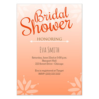Ombre Bridal Shower Invitation, Invitations & Cards on Celebrations.com