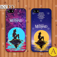 Disney Little Mermaid, Phone cases, iPhone 5 case, iPhone 5s case, iPhone 5c Case, iPhone 4 case, iPhone 4s case, Cover Skin, frozen--A50397