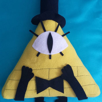 Gravity Falls Plush - Bill Cipher - MADE TO ORDER