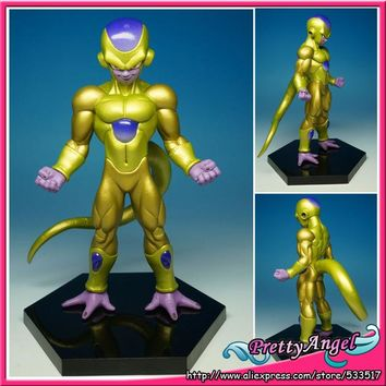 "Japanese Original Banpresto Dragon ball Z Super Structure Vol.4 Fukkatsu No ""F"" F Golden Freeza Freezer"