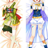 New Rin Hoshizora - Love Live Anime Dakimakura Japanese Hugging Body Pillow Cover MGF-59011