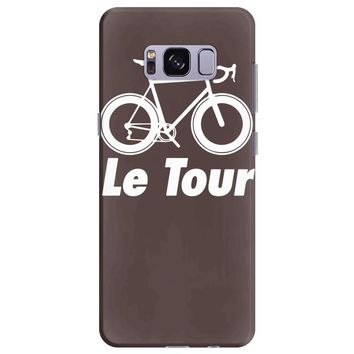 le tour bike silhouette 2015 de france new Samsung Galaxy S8 Plus