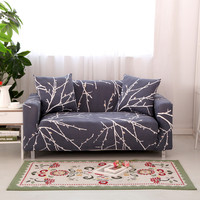 Four Seasons Universal Stretch Sofa Covers Furniture Protector Polyester Modern Loveseat Couch Cover Sofa Towel 1/2/3/4-seater