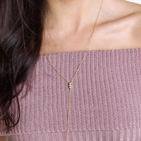 Sweet Devotion Necklace - Gold