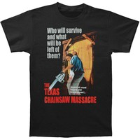 Texas Chainsaw Massacre Men's  Bizarre & Brutal Crimes! T-shirt Black